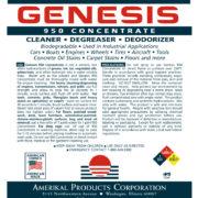 Genesis 950 Cleaner