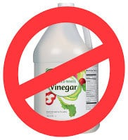 pet stains vinegar