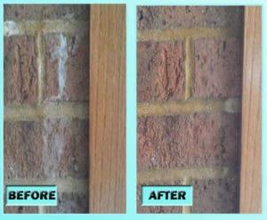 Clean brick walls