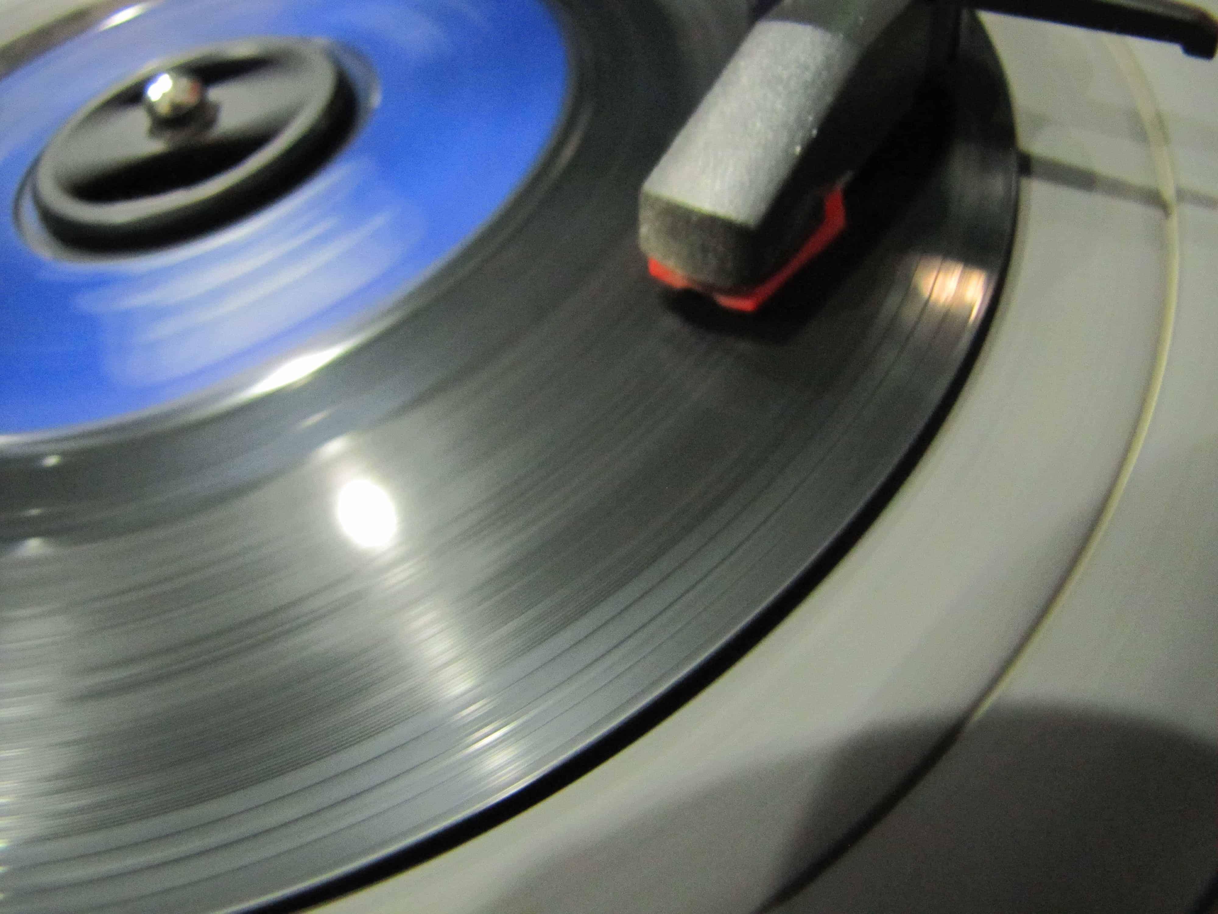 Clean 45 rpm Record