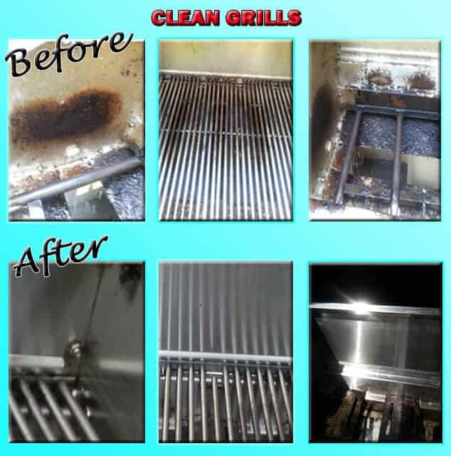Spring Cleaning - Clean grills with Genesis 950